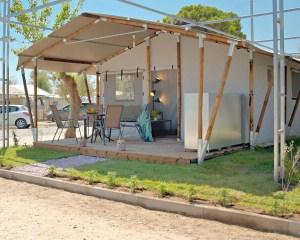 Armenistis Safari Tent 5pax exterior