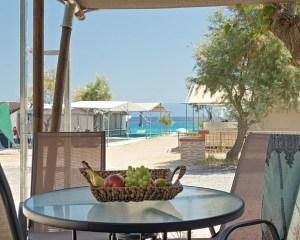 Armenistis Safari Tent 5pax terrace