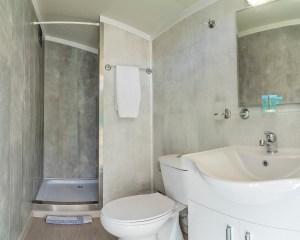 Armenistis Sea Safari Tent A Row 5 bathroom