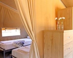 Sea Safari Tent B C Row  bedroom