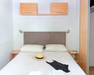 Armenistis Lux Mobile Home bedroom