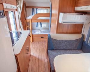 Armenistis SeaView Caravan interior
