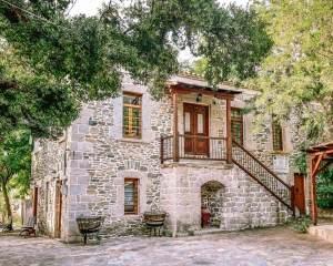 Parthenonas village Sithonia