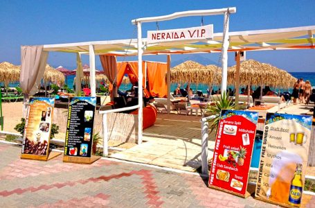 Neraida VIP Beach Bar – Sarti