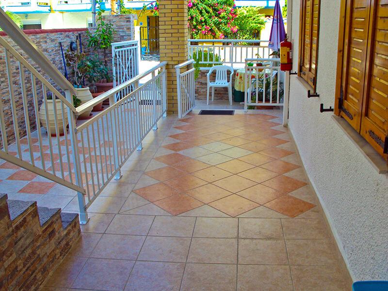 Maria House - Sarti ground-floor-balcony
