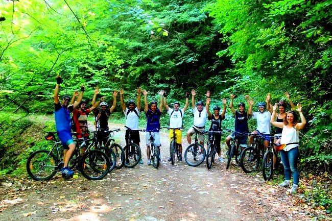 Biking Sithonia