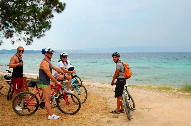 Biking Sithonia