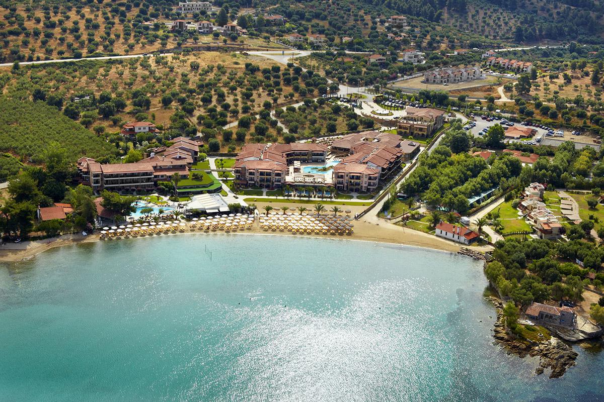 Anthemus Sea Beach Hotel Amp Spa Visit Sithonia