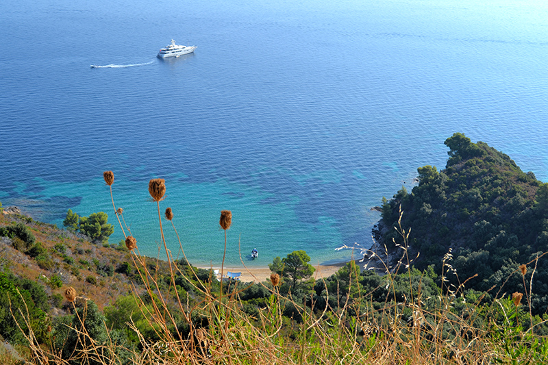 Hiking Sithonia