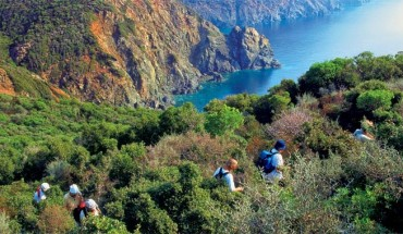 hiking sithonia