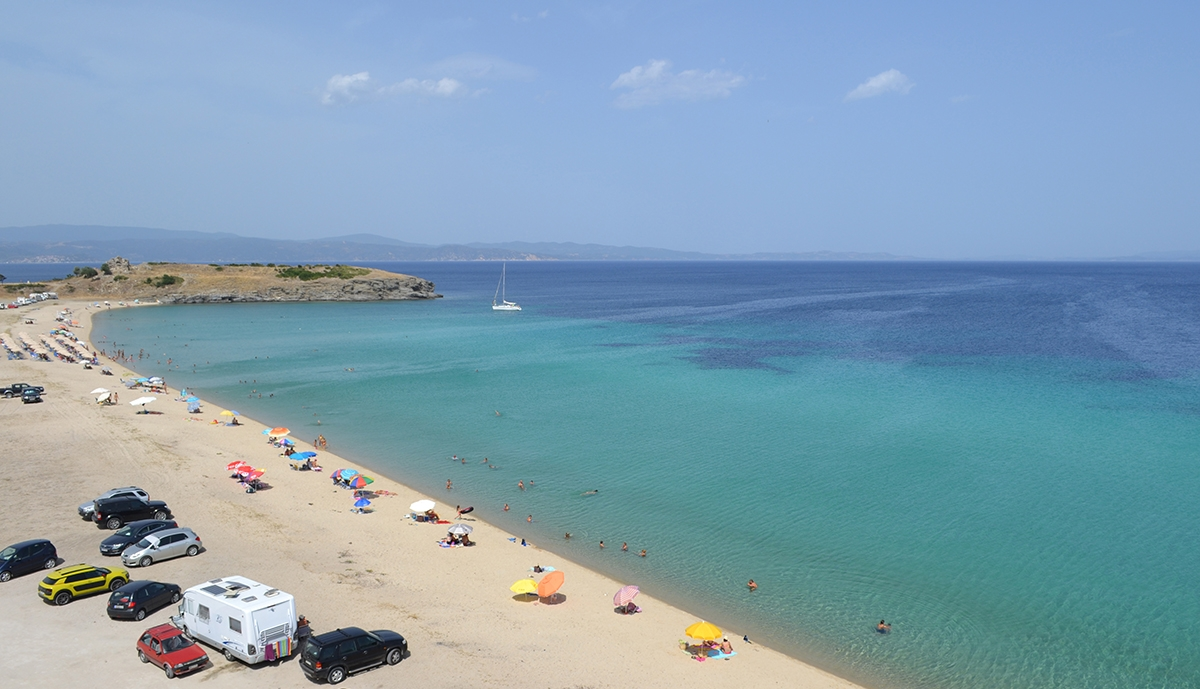 north sithonia beach