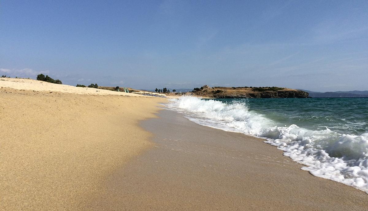 north sithonia beach