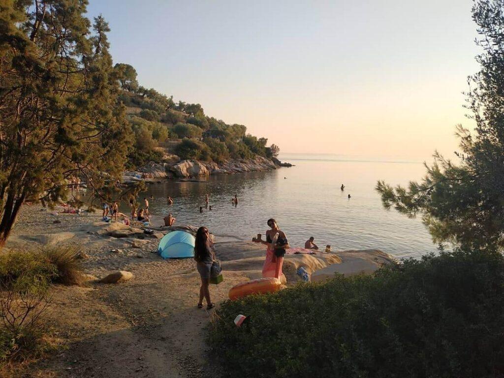 Spathies Beach small paradise