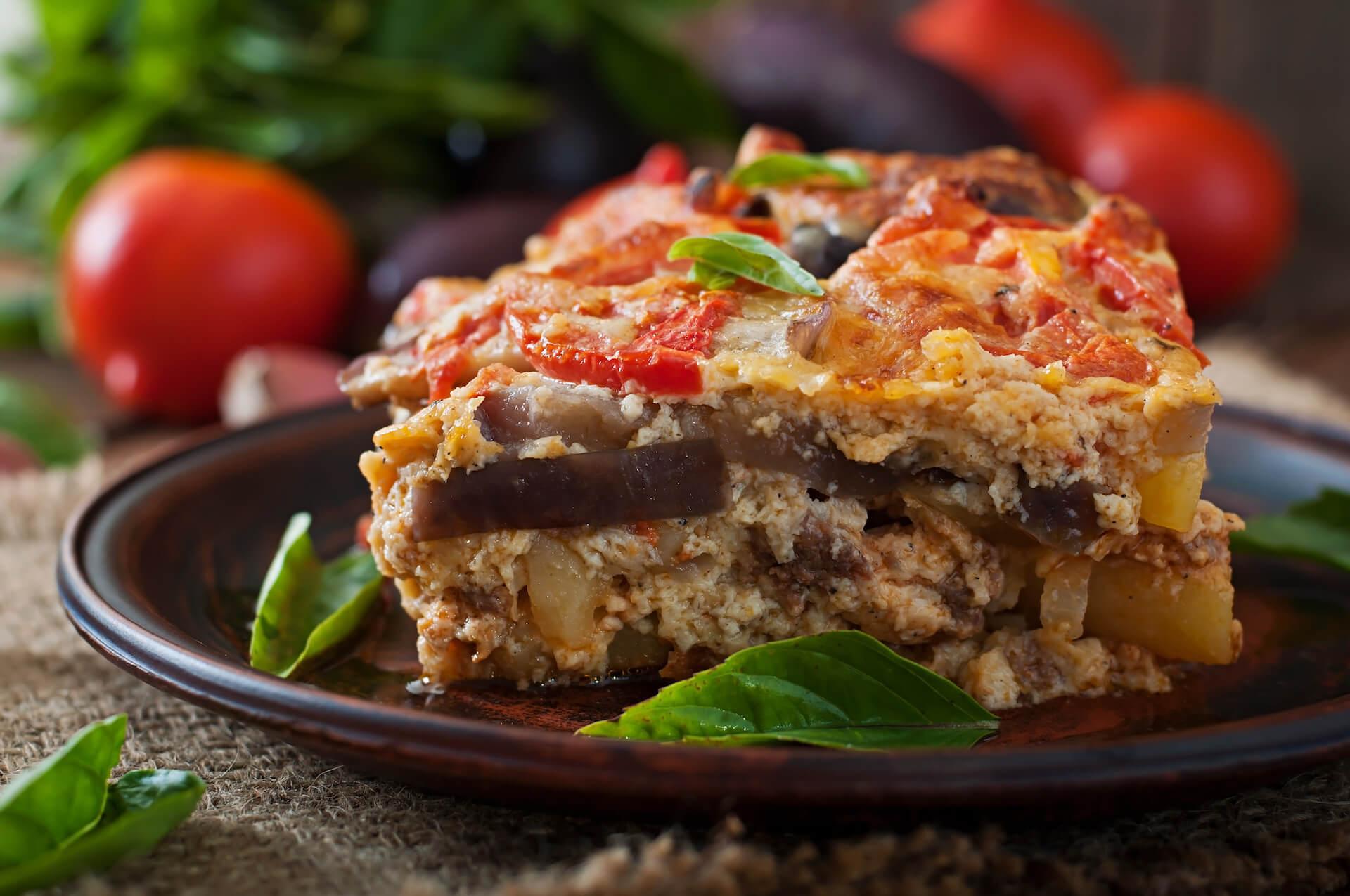 moussaka traditional greek dish