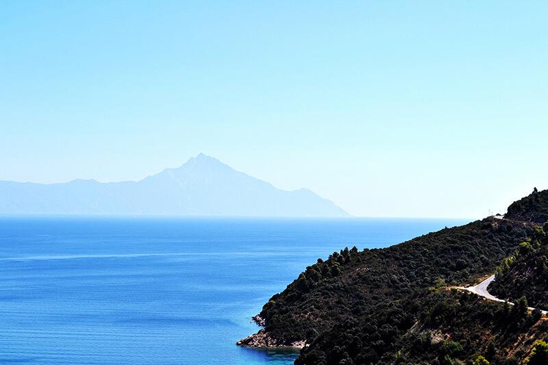 Sithonia Greece - hiking trails