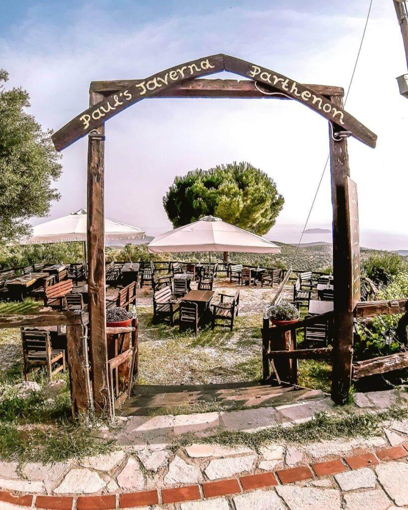 Paul's Tavern Parthenonas village