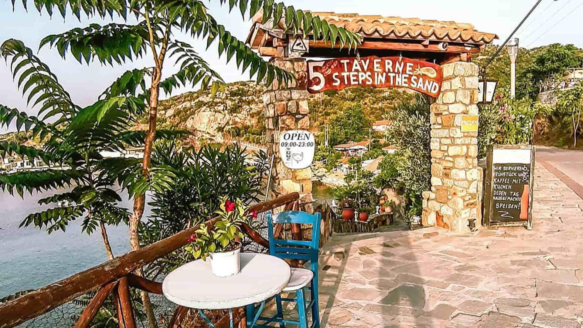 7 best restaurants in Sithonia
