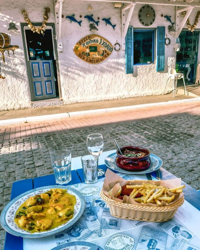 Tavern Children's School Sarti Sithonia