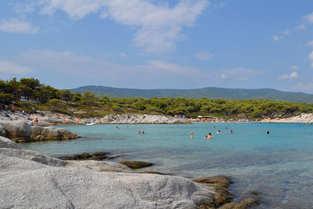 Orange Beach Sithonia Greece