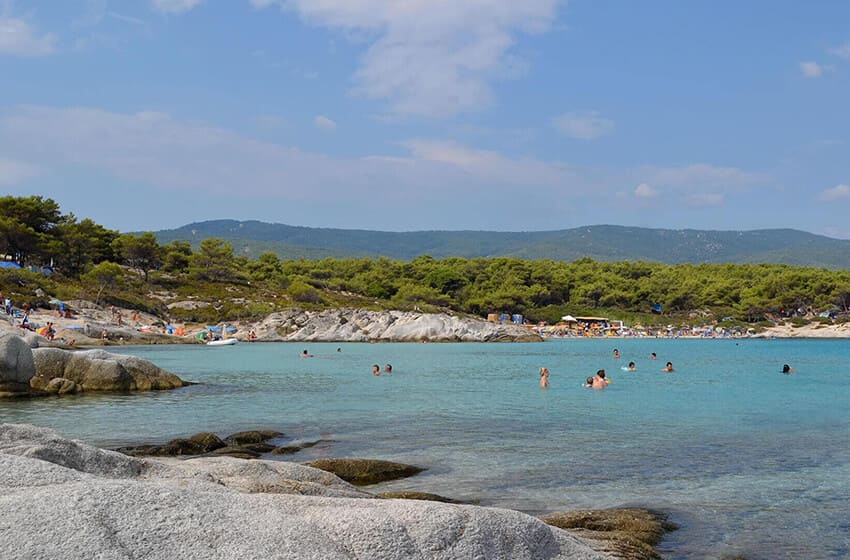 August 2021 in Sithonia – the tourists are here