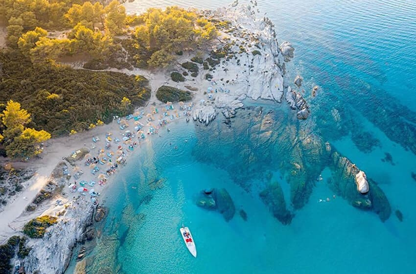 Why Sithonia has become one of the most popular destinations for summer holiday