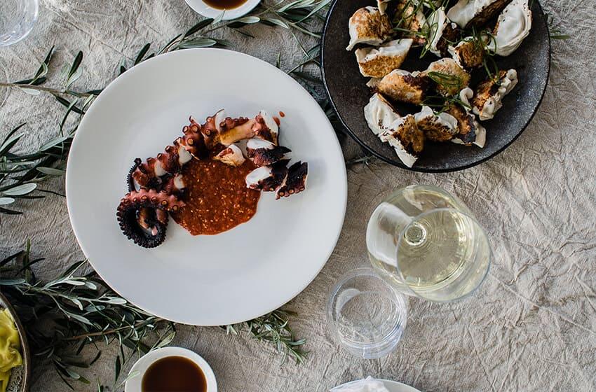 Homemade octopus recipe from my Greek friend